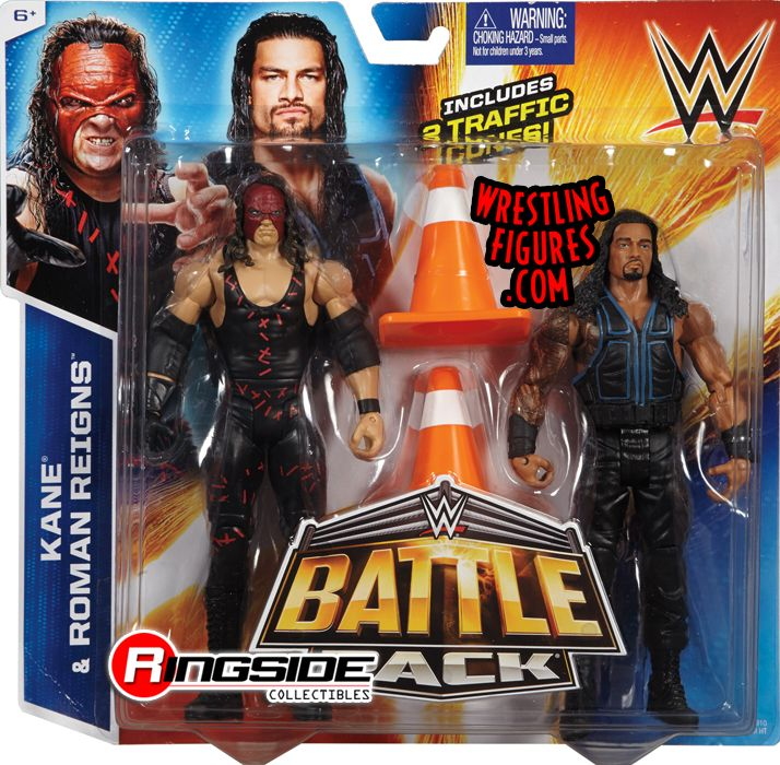 Roman Reigns Amp Kane Wwe Battle Packs 35 Wwe Toy