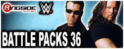 Mattel WWE Battle Packs 36!