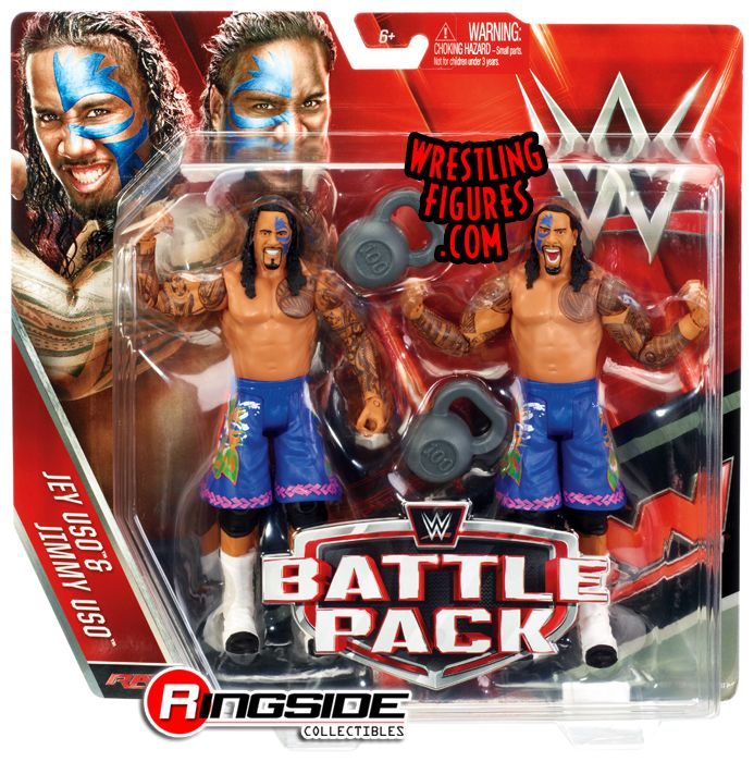 The Usos Wwe Battle Packs 37 Wwe Toy Wrestling Action