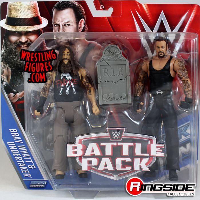 Bray Wyatt Amp Undertaker Wwe Battle Packs 38 Wwe Toy