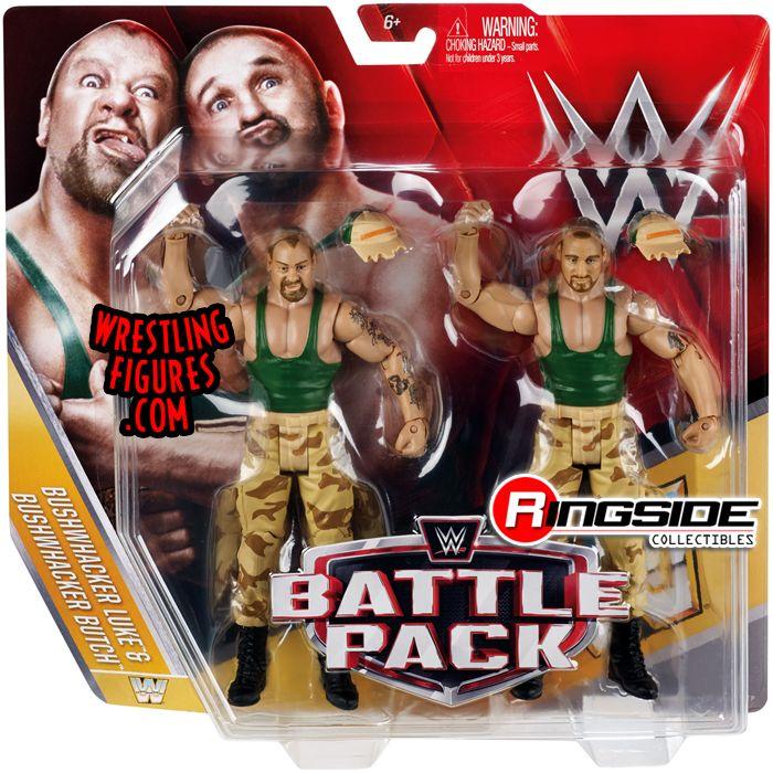 Bushwhackers Luke Amp Butch Wwe Battle Packs 40 Wwe Toy
