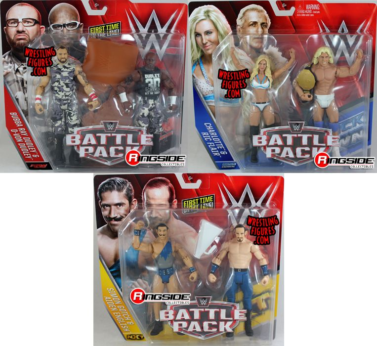 Wwe Battle Packs 41 Toy Wrestling Action Figures By Mattel