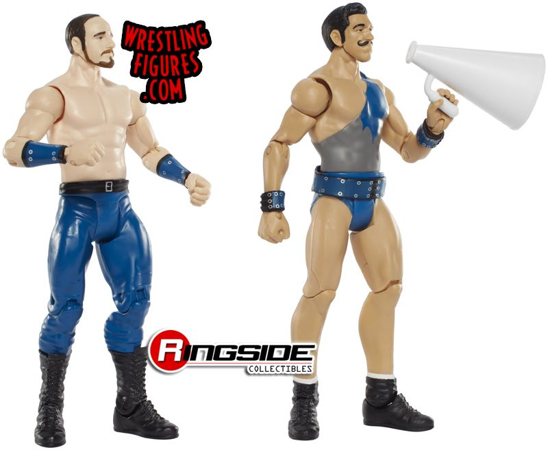 Wwe Toys For Boys : First look at wwe action figures for the vaudevillains