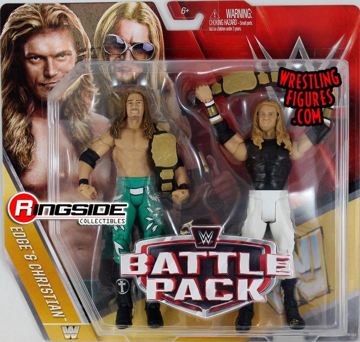 Edge Amp Christian Wwe Battle Packs 42 Wwe Toy Wrestling