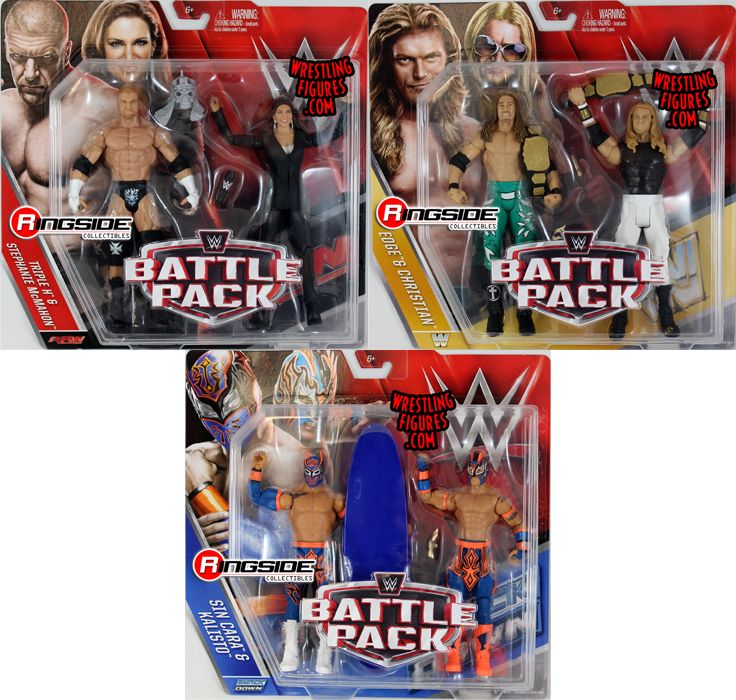 Wwe battle packs 42 toy wrestling action figures by mattel this set