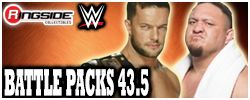 Mattel WWE Battle Packs Series 43.5!