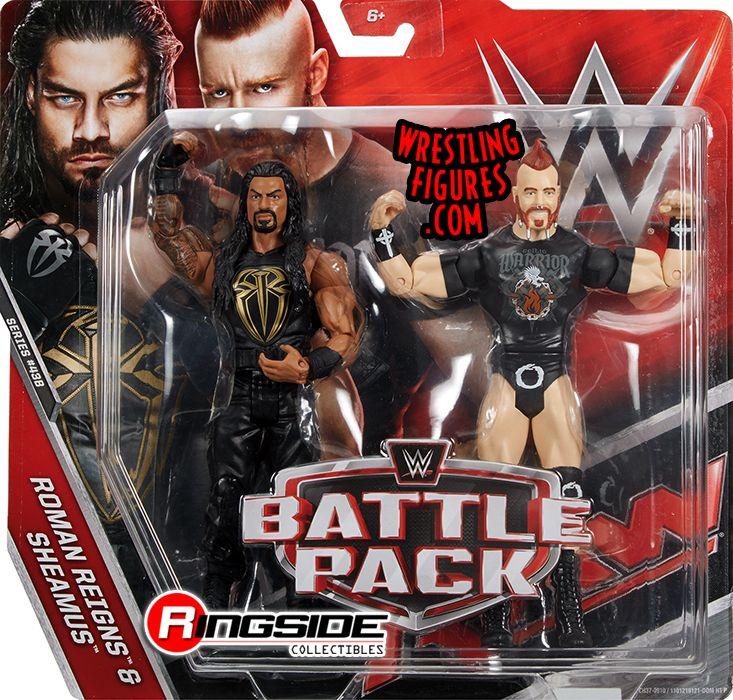 Sheamus Amp Roman Reigns Wwe Battle Packs 43 5 Wwe Toy