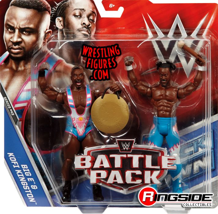 New Day Big E Amp Kofi Kingston Wwe Battle Packs 43 Wwe
