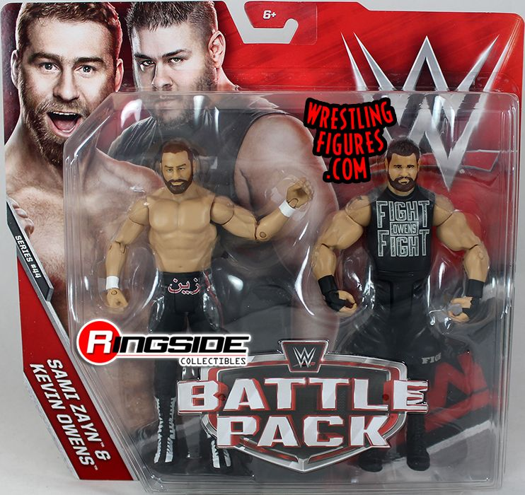 WWE Kevin Owens Sami Zayne Battle Pack Action Figure Series 44