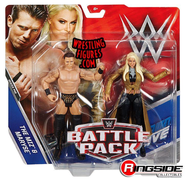 Miz Amp Maryse Wwe Battle Packs 46 Wwe Toy Wrestling