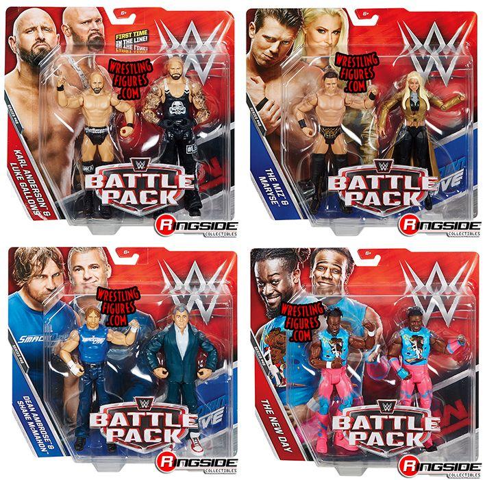Wwe Battle Packs 46 Toy Wrestling Action Figures By Mattel