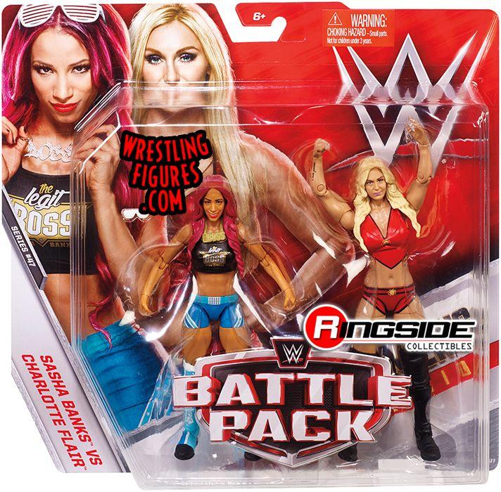 Sasha Banks Amp Charlotte Flair Wwe Battle Packs 47 Wwe