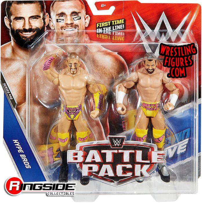 WWE Superstars Mojo Rawley /& Zack Ryder Action Figure 2 Pack