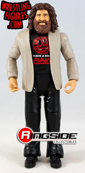 Mick Foley /& Stephanie McMahon WWE Battle Packs 49 Mattel Toy Action Figures