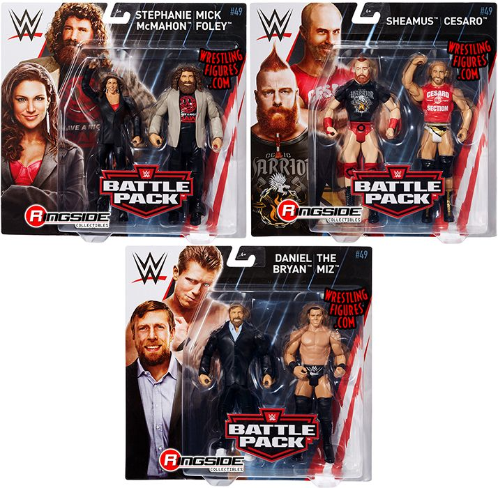 WWE Battle Pack Series 49 Stephanie McMahon and Mick Foley