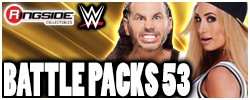 Mattel WWE Battle Packs Series 53!