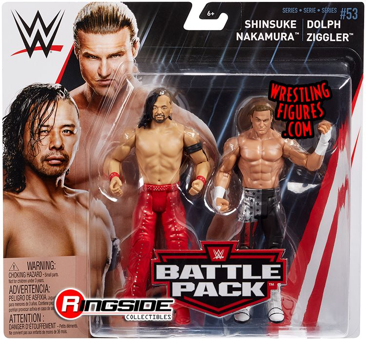 WWE Battle Pack Series 53-Shinsuke Nakamura vs Dolph Ziggler