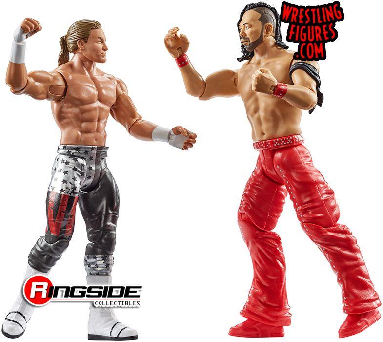 WWE-Shinsuke Nakamura /& Dolph Ziggler-Mattel-Wrestling figures