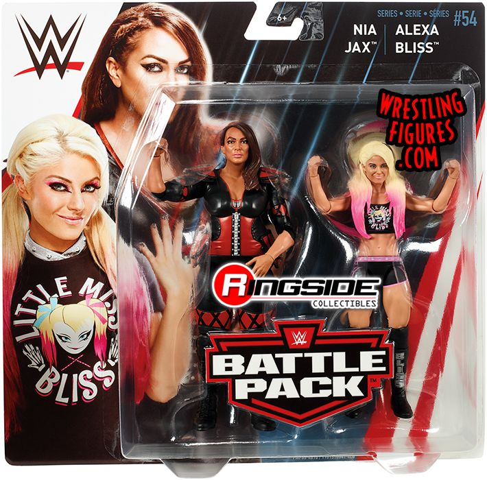 Alexa Bliss Amp Nia Jax Wwe Battle Packs 54 Wwe Toy