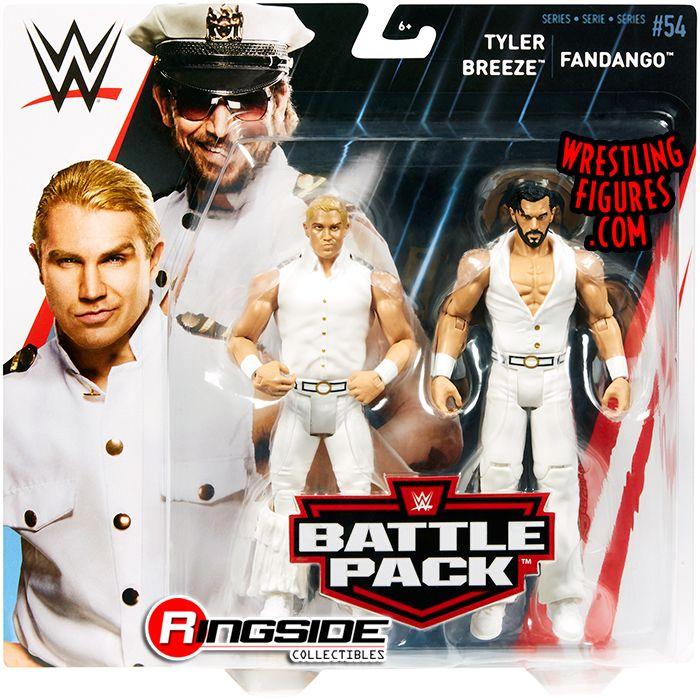 WWE Mattel Tyler Breeze Fashion Police Battle Pack Series 54 figure loose