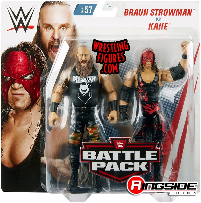 Braun Strowman Amp Kane Wwe Battle Packs 57 Wwe Toy