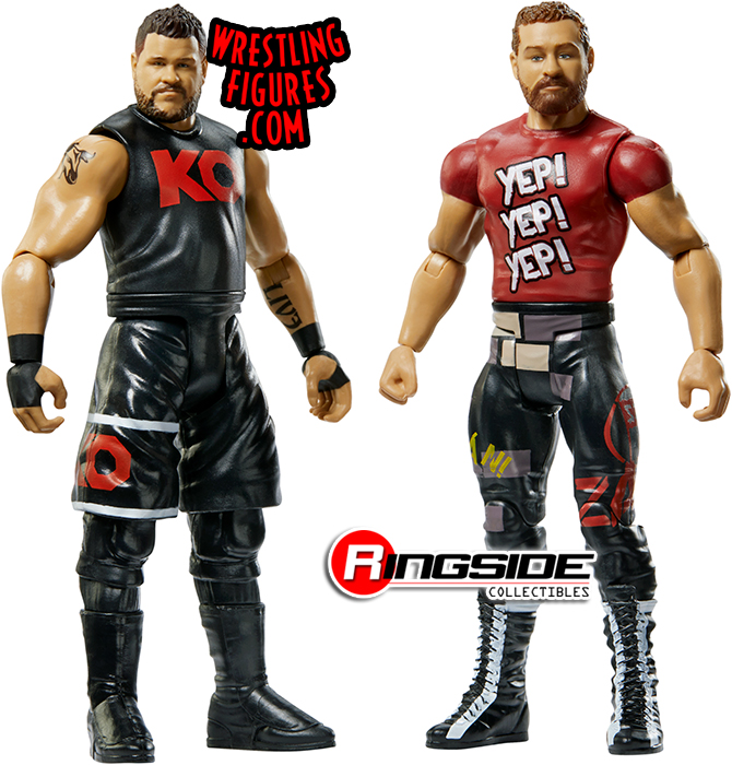 WWE Mattel Sami Zayn Battle Pack Series 58 figure loose
