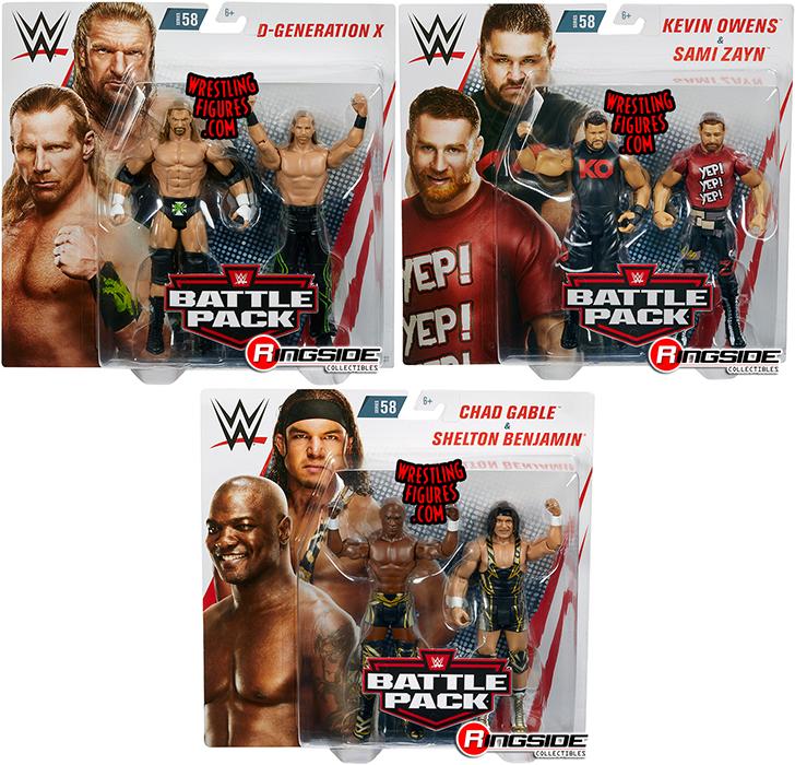 WWE Mattel DX Shawn Michaels Battle Pack Series 58 figure loose