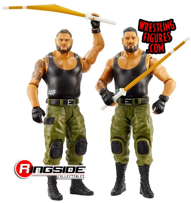NXT WWE Elite 62 AOP Rezar /& Akam Authors of Pain Wrestling Action Figure Toy