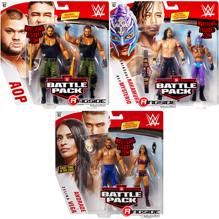 WWE Mattel Zelina Vega Battle Pack Series 62 figure loose