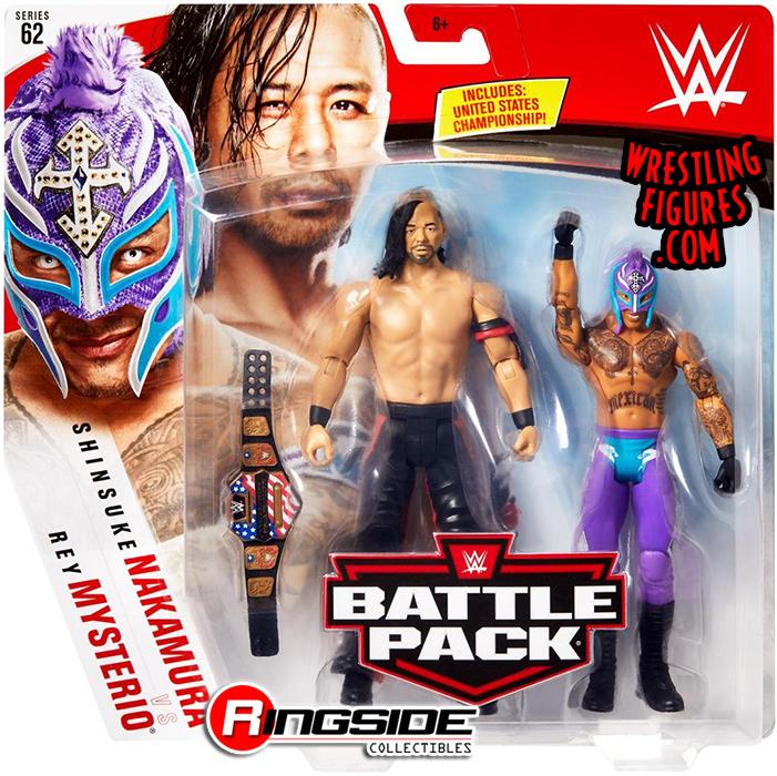 WWE The Miz United States USA Champion Belt Wrestling Action Figure Kid Toy