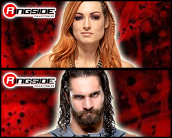 Seth Rollins /& Becky Lynch WWE Battle Pack Series 66 action figures-neuf