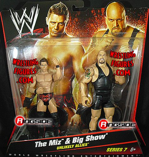 The Miz Amp Big Show Wwe 2 Packs 7 Ringside Collectibles