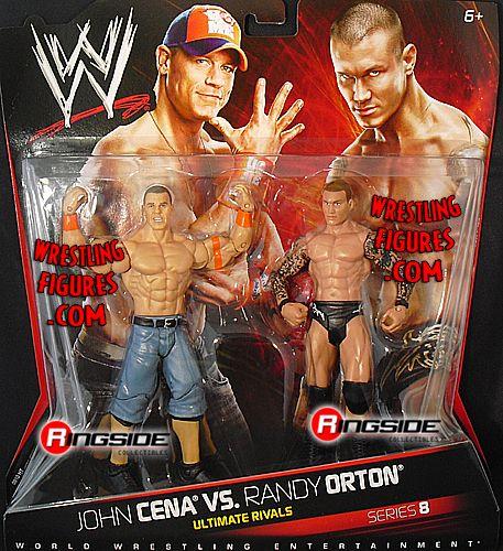 Randy Orton Amp John Cena Wwe 2 Packs 8 Ringside
