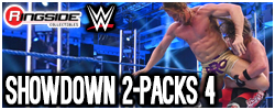 Mattel WWE Showdown 2 Packs Series 4!