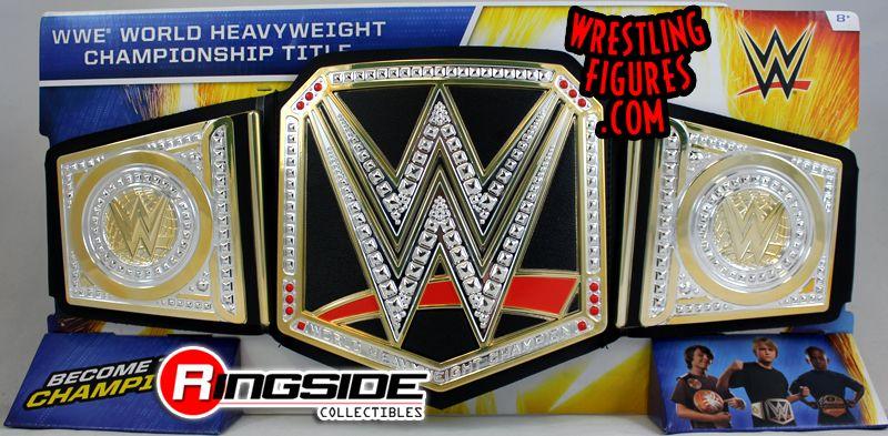 Mattel WWE Toy Belts w/ UPDATED WWE Logo In Stock Now ...