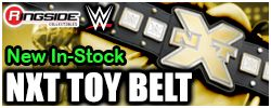 Mattel WWE NXT Toy Wrestling Belt!