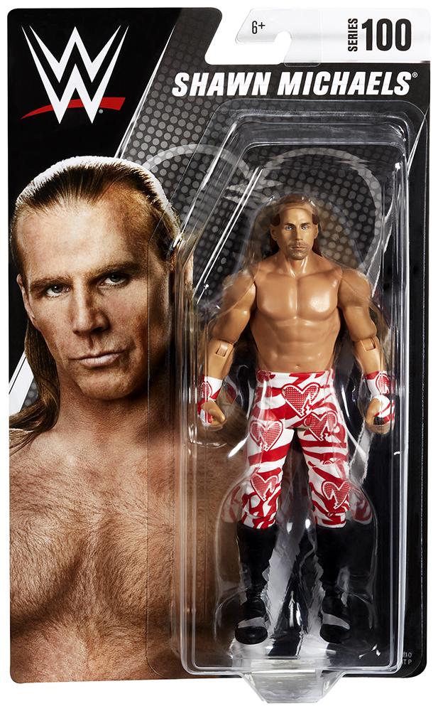 WWE Mattel Shawn Michaels Series 100 figure loose
