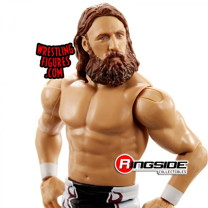 WWE Daniel Bryan Nouveau MATTEL BASIC SERIES 104 Wrestling Figure NXT Action Core