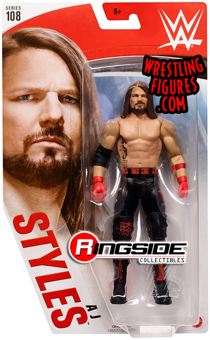 WWE Zombies Series-AJ styles 7 in relevèrent Wrestling Figure-New in package environ 17.78 cm
