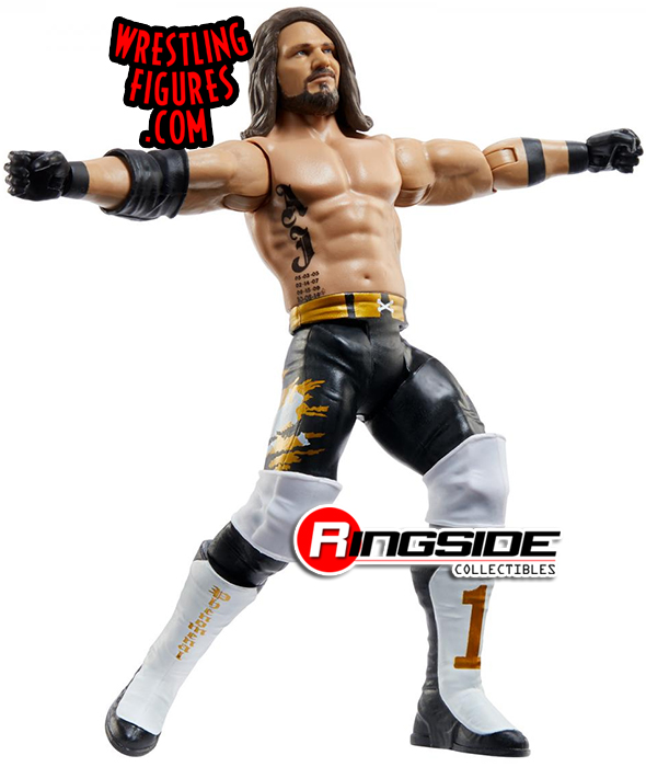 WWE Mattel AJ Styles Series 108 Basic Figure