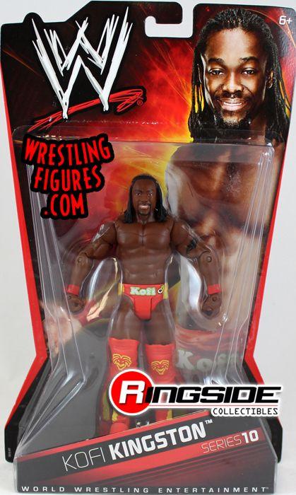 Kofi Kingston Wwe Series 10 Wwe Toy Wrestling Action
