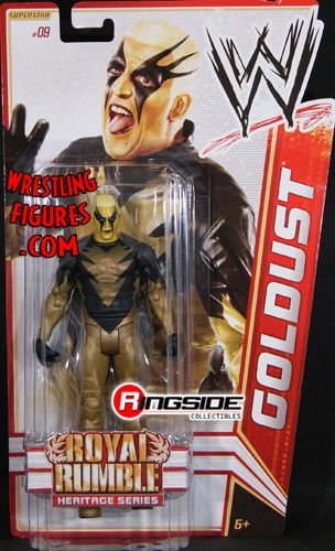Goldust Wwe Series 14 Royal Rumble Heritage Ringside