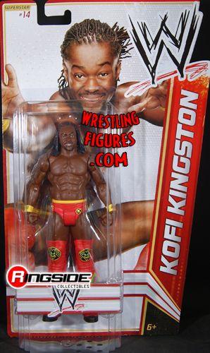 Kofi Kingston Wwe Series 15 Ringside Collectibles