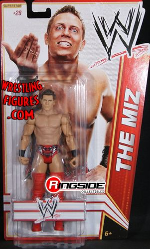 The Miz Wwe Series 17 Ringside Collectibles