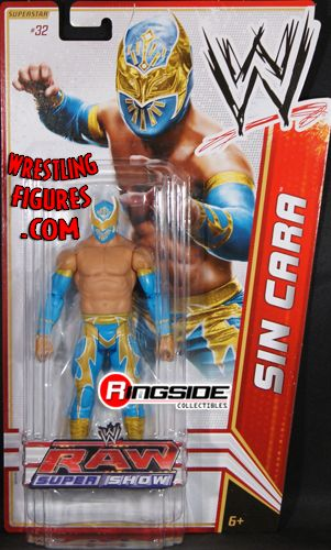 Sin Cara Wwe Series 18 Ringside Collectibles