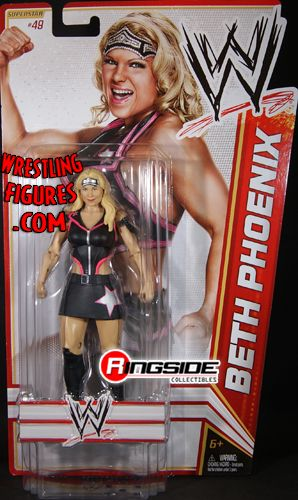 Wwe Girl Toys : Beth phoenix wwe series toy wrestling action