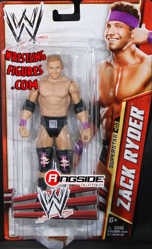 Zack Ryder Wwe Series 24 Ringside Collectibles
