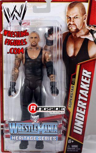 Undertaker Wwe Series 26 Wrestlemania Heritage