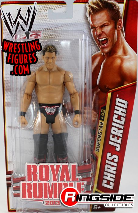 Chris Jericho Wwe Series 32 Wwe Toy Wrestling Action