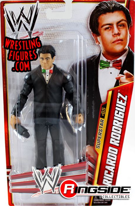 Ricardo Rodriguez Wwe Series 34 Ringside Collectibles